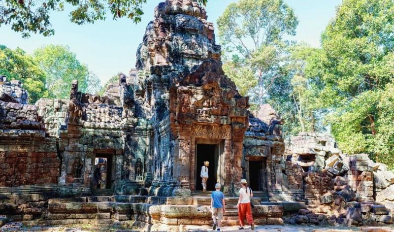 6,61 milioane de turisti au vizitat Cambodgia in 2019