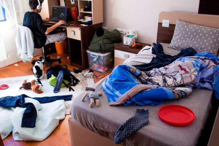 Adolescenti pot fi cu adevarat dezorganizati si asta poate fi ok