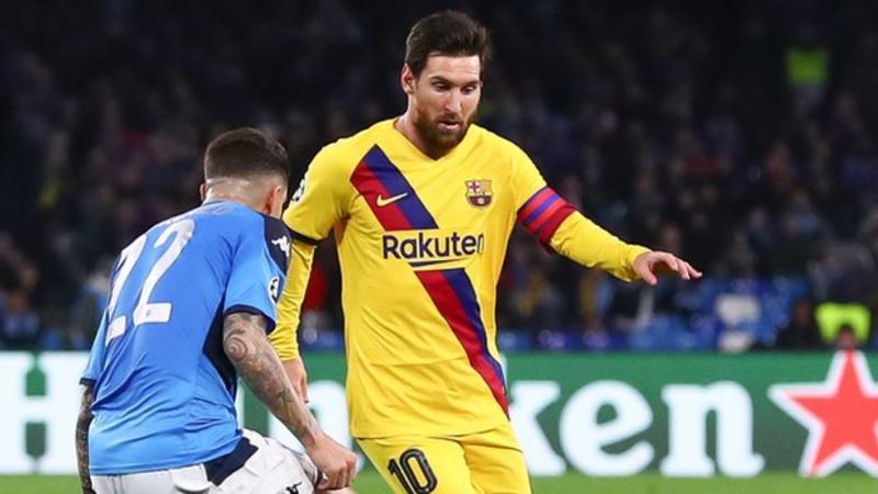 Barcelona-Napoli va fi jucat în spatele ușilor închise