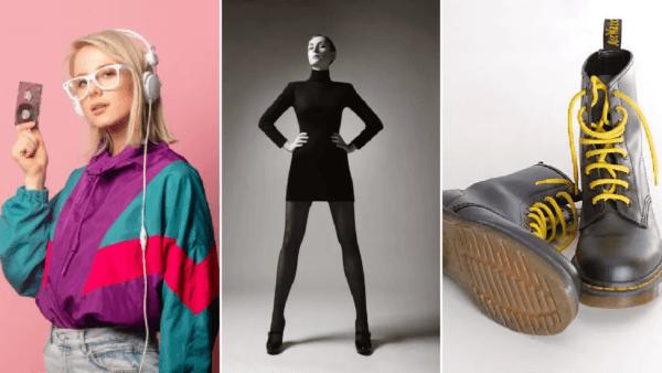 Cele mai reprezentative piese vestimentare ale modei anilor '90