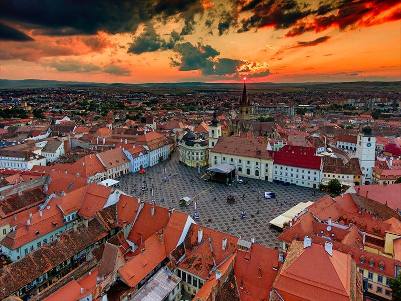Ghidul Michelin promoveaza Sibiul
