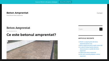 BetonAmprentat365.ro