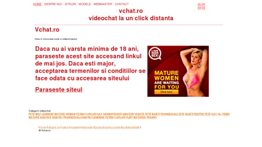 Videochat online pentru toate gusturile - vchat.ro