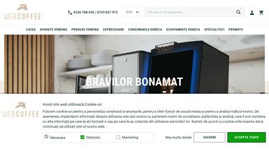 Webcoffee.ro - automate cafea