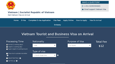 How to Apply For Vietnam Evisa?