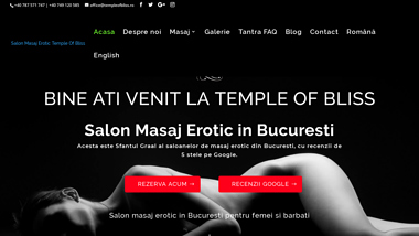 Temple of Bliss Salon Masaj Erotic Bucuresti