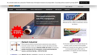 Perdea industriala folie PVC poliplan transparent prelata