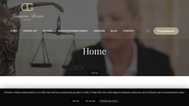 Avocat Geanina Drian Iasi | Specializat Divort, Paternitate, Minori, Partaj, Divort romani din strainatate