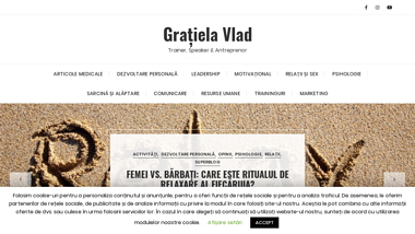 Gratiela Vlad - trainer, speaker, antreprenor