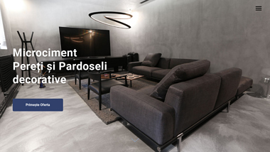 Microciment pereti si pardoseli decorative
