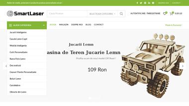 Smart Laser – Atelier de creatie, proiectare si productie produse personalizate unicat !