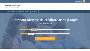 Compara ofertele de creditare ușor și rapid