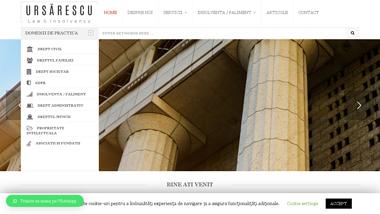 Cabinet de avocat - insolventa - Ursarescu
