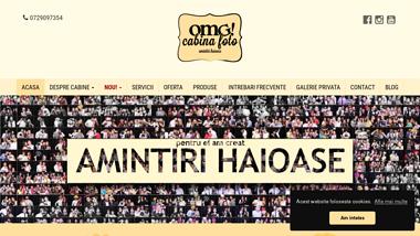 Servicii Photo Booth Bucuresti cu OMG! Cabina Foto
