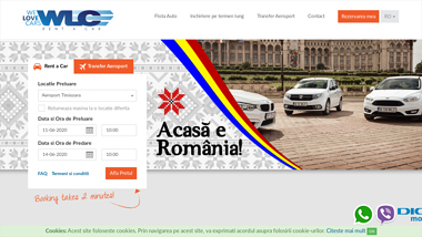 Rent a car Aeroport Timisoara