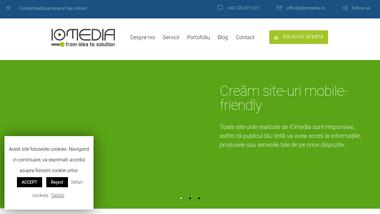 Creare site | Realizare magazin online | IOmedia