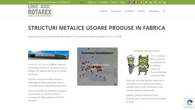 Unic Rotarex® Fabrica de Structuri Metalice Usoare
