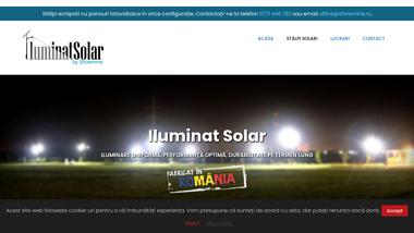Iluminat Solar cu tehnologie LED