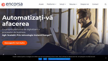 Encorsa - platforme și instrumente automatizare business