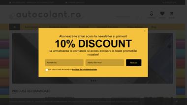 Autocolant.ro - primul magazin online dedicat autocolantelor