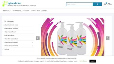 Igienata vinde dezinfectanti Anios Cif Domestos Dr Schumacher Igienol
