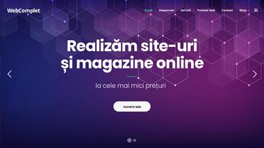 Creare site web, creare magazin online