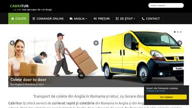 Cabritur - Transport colete Anglia România