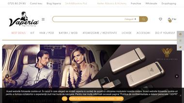 Vaperia - Magazin tigari electronice, lichide si accesorii