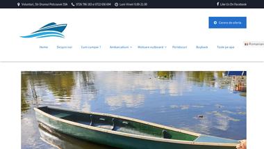 Barci pescuit delta