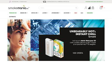 Smokemania - Magazin online si distribuitor de tigari electronice si e-lichide