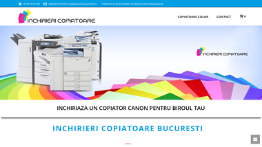 Inchirieri copiatoare si imprimante Bucuresti