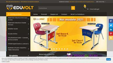 EduVolt - Materiale didactice si mobilier scolar