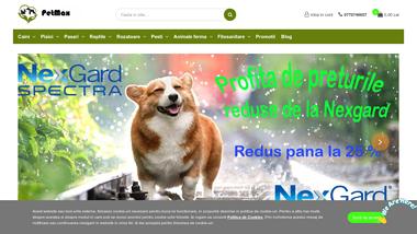 Petmax - farmacie veterinara si magazin cu mancare pentru animale