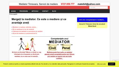 Birou de mediator in Timisoara, servicii de mediere Matei Bitea