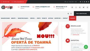 Web Design Giurgiu