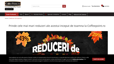 Magazin online cafea boabe si produse vending Coffeepoint.ro