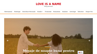 Loveisaname - Blog personal